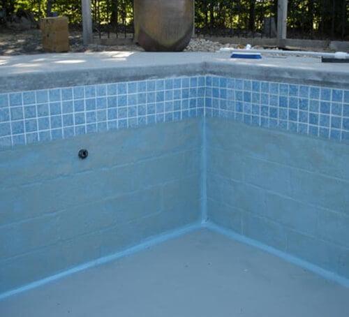 Swimming Pool Sealer : Swimming pool sealing and repair sani tred