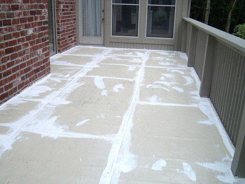 Wood Deck Sealer And Repair Sani Tred