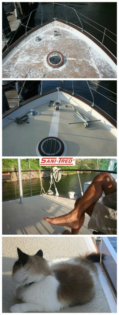 Boat Deck Coating & Repair Rubberized Paint