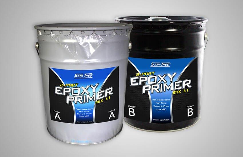 2 Part Epoxy Spray Paint : Part epoxy primer kit gallon do it yourself basement