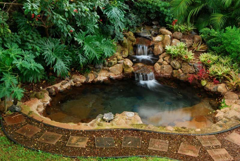 Backyard Waterfall Pros Cons Diy Backyard Water Feature