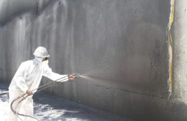 Does paint waterproof what do you think do it yourself basement waterproofing sealer sani tred - Exterior waterproofing paint plan ...