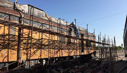 railroad car roof coating