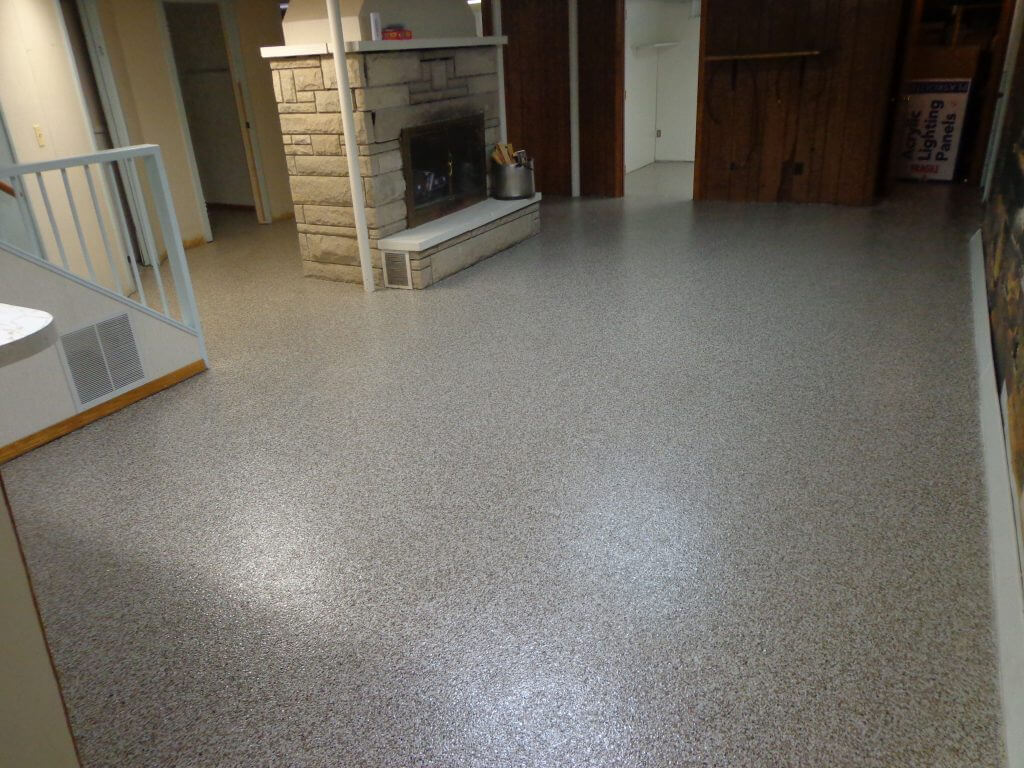 Best concrete floor coating sani tred for Best concrete floor paint