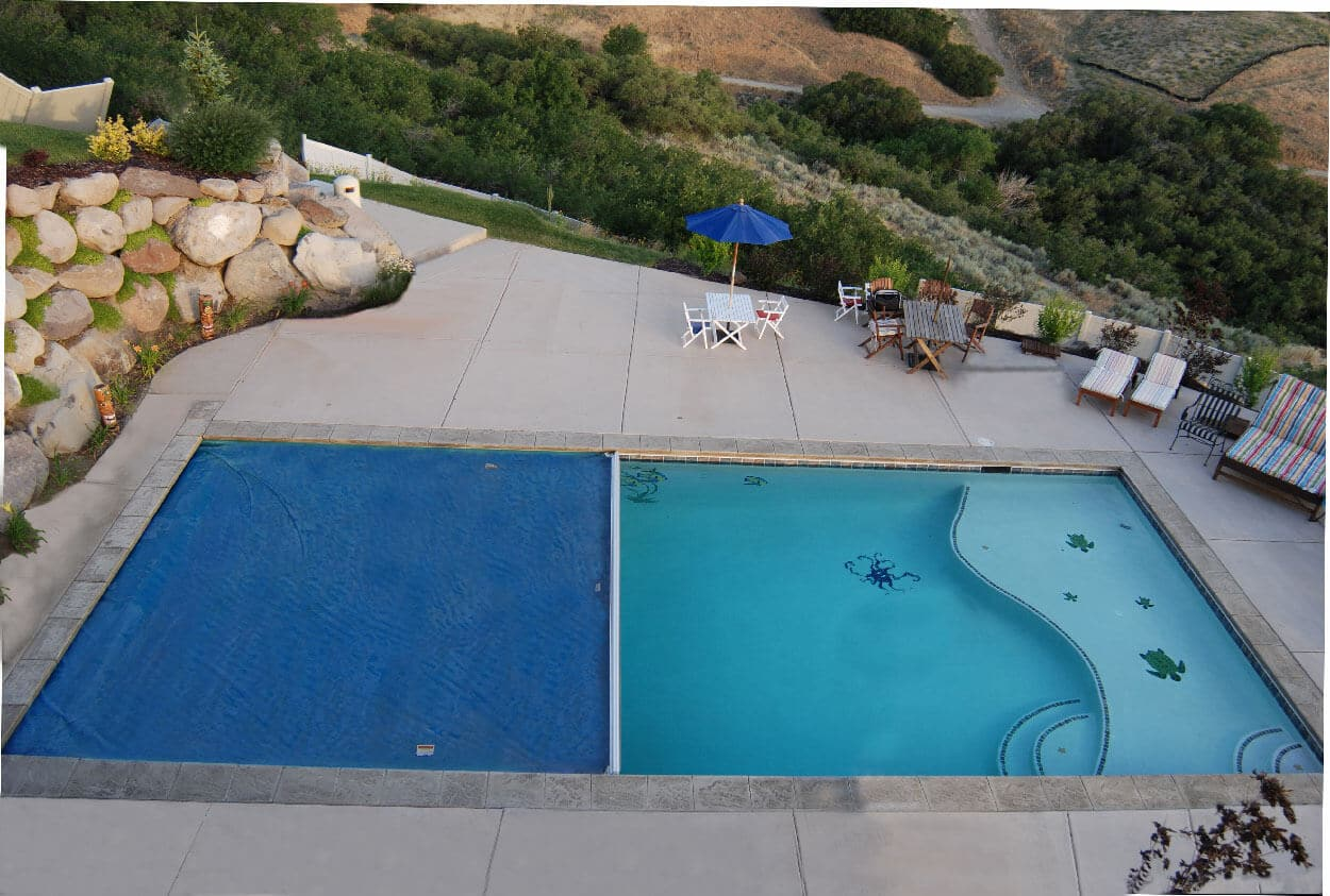 Backyard Swimming Pool Deaths : above ground swimming pool deck designs cool design ideas backyard