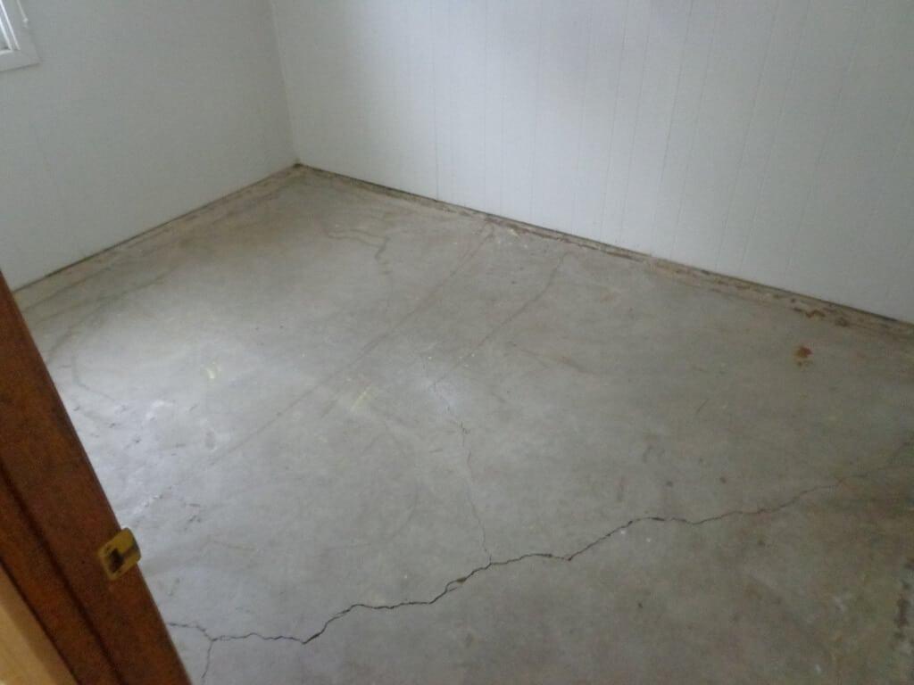 basement crack repair options sani tred
