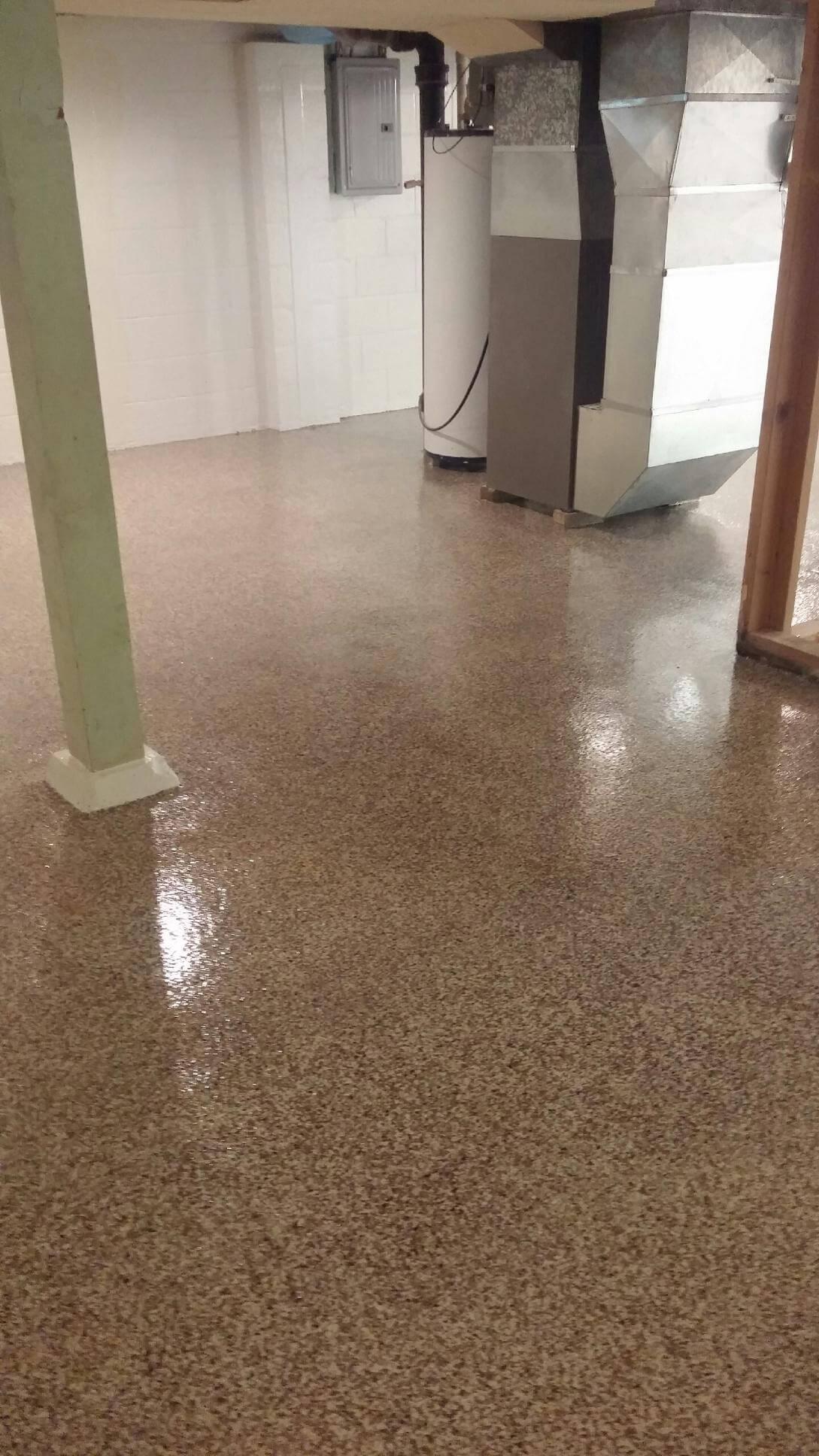 zion waterproofing pro s in illinois waterproofed a a leaky basement