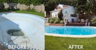 Diy Repairing And Resurfacing Swimming Pool Sani Tred